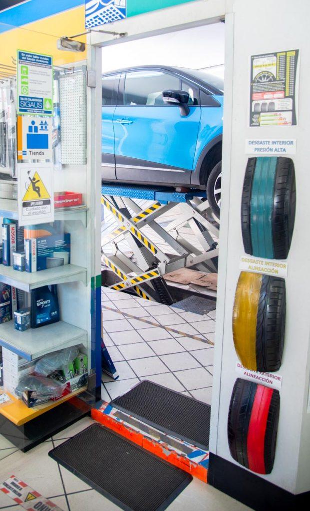 estado ruedas taller Ciudad Real revisión coche