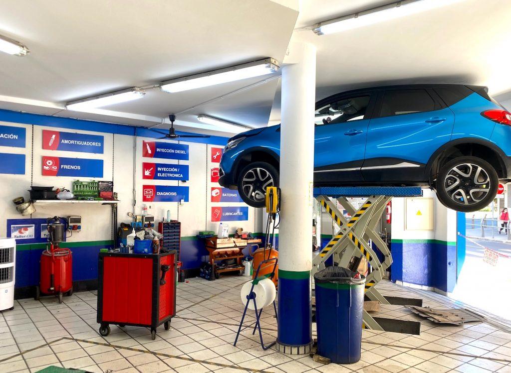 taller coches reparación y mantenimiento