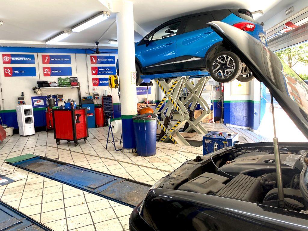 taller coches instalaciones Ciudad Real