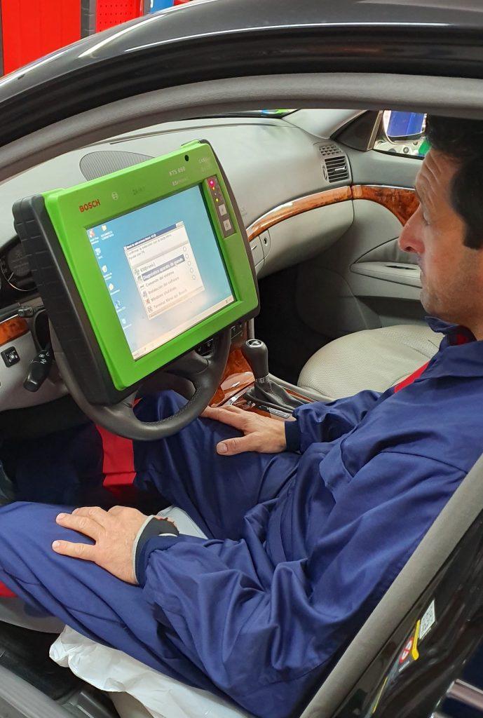 diagnosis reparación vehículos